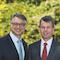 Die WEMAG-Vorstände Thomas Murche (l.) und Caspar Baumgart sind zufrieden mit dem Geschäftsjahr 2019.