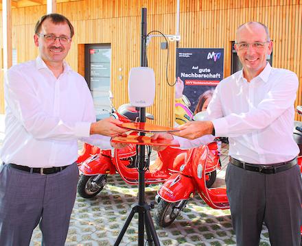 Um das LoRaWAN-Netzwerk auszubauen, kooperiert MVV Energie mit der Mannheimer Wohnungsbaugesellschaft GBG.
