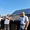 Auch nach 20 Jahren noch funktionsfähig: Eine der 18 Solaranlagen in Roth, deren Förderung nach dem EEG nun ausläuft.