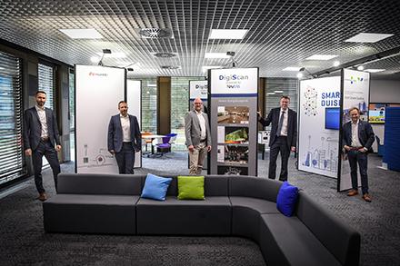 Das Smart City Duisburg Innovation Center im Fraunhofer-inHaus-Zentrum ist eröffnet.