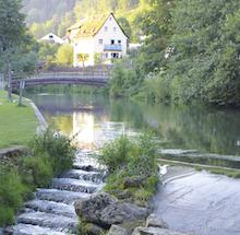 Laut WWF werden die Flüsse im Freistaat Bayern von 57.000 Querbauwerken zerschnitten.