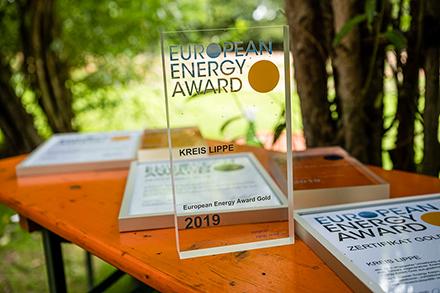Der Kreis Lippe, Brakel, Löhne, Minden, Verl und Bad Salzuflen im Regierungsbezirk Detmold haben den European Energy Award erhalten.