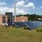 Die Heizzentrale für Solarthermie in Ry in Dänemark hat laut der KEA-BW Vorbildcharakter.
