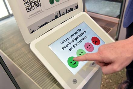 Die Frankfurter Bürgerämter haben ein Bewertungssystem eingeführt.