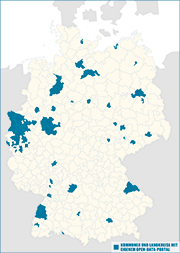 Kommunale Open-Data-Landschaft.