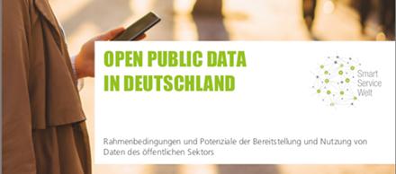 Eine aktuelle Studie des Technologieprogramms Smart Service Welt II befasst sich mit Open Public Data.