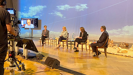 In der BRZ Breakout Session diskutierten Experten und Branchenvertreter ethische Aspekte des Einsatzes von KI in der Verwaltung.