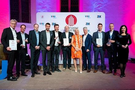 Die Preisträger des Stadtwerke Awards 2020 .
