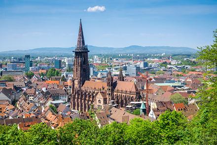 Freiburg ist eine von vier baden-württembergischen Städten, die nun als Smart Cities vom Bundesinnenministerium gefördert werden.
