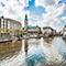 Hamburg ist federführend im durch das Bundesinnenministerium geförderten Urban-Twin-Projekt mit Leipzig und München.