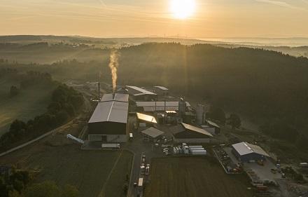Die Wasserstoffanlage im Energiepark in Wunsiedel wird ausschließlich erneuerbare Energien nutzen.