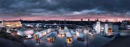 Das Energy Lab 2.0 am KIT ist Europas größte Forschungsinfrastruktur für erneuerbare Energie. Hier wird die Vernetzung von Energieerzeugern und Speichermethoden untersucht.