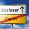 Rheinland-Pfalz setzt auf Glasfasernetze.