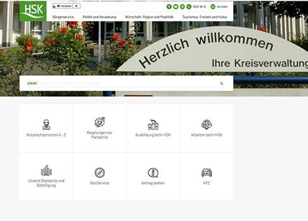 Der Hochsauerlandkreis präsentiert sich mit neuem Internet-Auftritt samt Karriere-Website.