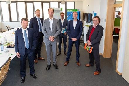 Das WindNODE-Konsortium traf sich bei der WEMAG in Schwerin zur Projektbilanz.