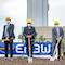 Spatenstich für die neue Netzstabilitätsanlage in Marbach.