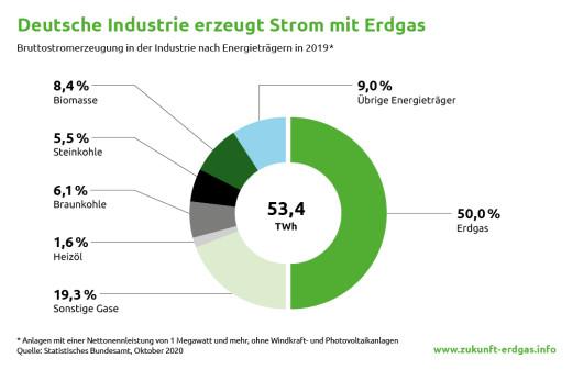 Anteile der Brennstoffe an der Stromerzeugung.