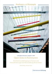 Studie zeigt die Bereitschaft zur Open-Data-Bereitstellung in Kommunen.