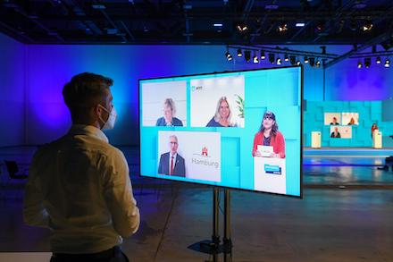 Die Smart Country Convention fand in diesem Jahr digital statt.