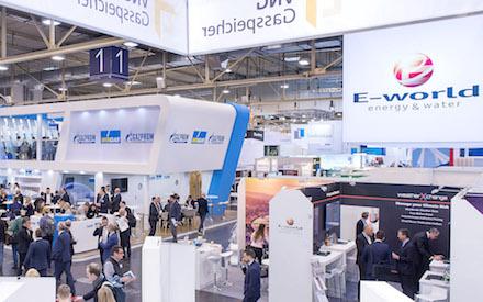 Verschoben: Die Messe E-world finden im Mai 2021 statt.