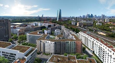 MVV liefert innovative Energielösungen für das Neubauprojekt OstStern in Frankfurt am Main.