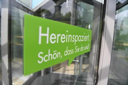 Kundenzentrum des Stadtwerks am See: Der kommunale Versorger ist auch offen für neue Gesellschafter.