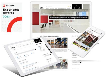 Das Internet-Portal der Stadt Ulm wurde bei den diesjährigen Sitecore Experience Awards ausgezeichnet.