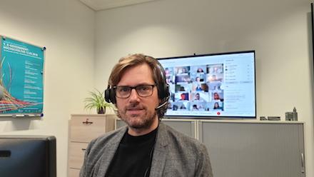 Dr. Timo Kahl, Professor für Wirtschaftsinformatik, ist der Studiengangsleiter Verwaltungsinformatik – E-Government an der Hochschule Rhein-Waal.
