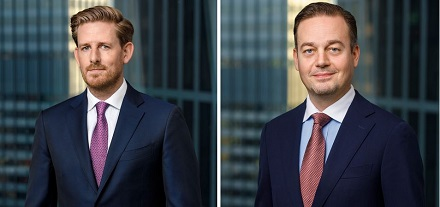 Sie leiten das Deutschlandgeschäft von MET: Jörg Selbach-Röntgen, CEO MET Germany (links) und Tobias Meyer, CFO MET Germany (rechts).