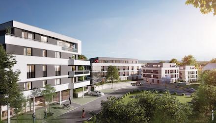 """Quartier """"Obere Ziegelei"""" in Backnang: Effiziente und umweltfreundliche Versorgung des Stadtquartiers durch LAVA Energy."""