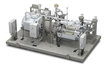 Der HOFIM-Turbokompressor generiert als Herzstück des ETES-Systems die Wärme.