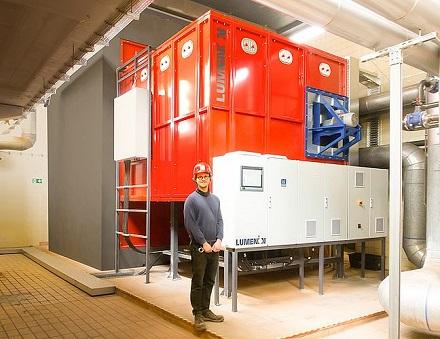 Alle WindNODE-Projekte, hier ein Hochtemperatur-Stahlspeicher für die GEWOBAG in Berlin zur Rückverstromung, sind nun CO2-frei gestellt.