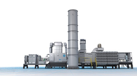 Elf solcher Turbinen sollen im RWE-Gaskraftwerk in Biblis zur Netzstabilisierung beitragen.