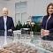 Günter Papenburg und enercity-CEO Susanna Zapreva unterzeichneten am 10. Dezember 2020 den Wärmelieferungs- und Kooperationsvertrag zur Wasserstadt Limmer.