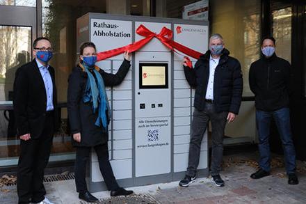 Langenhagen stellt den Bürgern das erste Abhol-Terminal für Ausweisdokumente in Niedersachsen zur Verfügung.