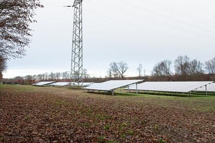 Die 2.027 Solarmodule in Weiden erzeugen genug Energie, um damit rund 215 Haushalte ein Jahr lang mit Strom zu versorgen.