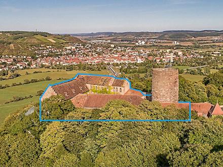 Zu den Gebäuden, welche die Stadt Hammelburg mithilfe der TERA-Lösungen verwaltet, zählt auch Schloss Saaleck.