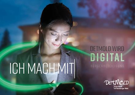 Die Stadt Detmold kombiniert Online- und Offline-Mitmachformate.