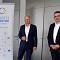 Die jenergie-Geschäftsführer Tobias Wolfrum (links) und Gunar Schmidt starten mit der neuen Tochter der Stadtwerke Jena für smarte Services durch.