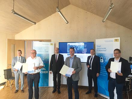 Neumarkt i.d.Oberpfalz lässt IT-Sicherheit zertifizieren.