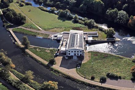 Wasserkraftwerk Stiepel: Erneuerbare Energien aus der Ruhr.