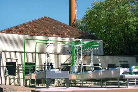 Kann auch mit Grubengas befeuert werden: BHKW der STEAG-Anlage in Camphausen.