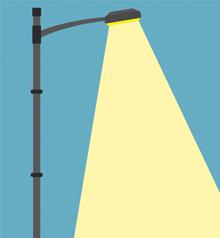 Energie sparen mit intelligenter Lichtsteuerung.