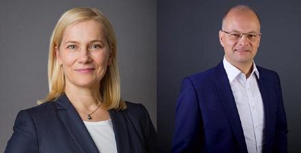 Claudia Budich  und Tobias Wolfrum führen die Stadtwerke Jena für die nächsten zwei Jahre.