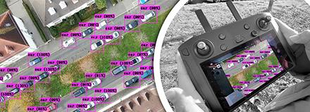 Mit KI die Parkplatzauslastung in der Stadt messen: das testen das Fraunhofer IAO und die Stadt Karlsruhe in einem gemeinsamen Projekt.