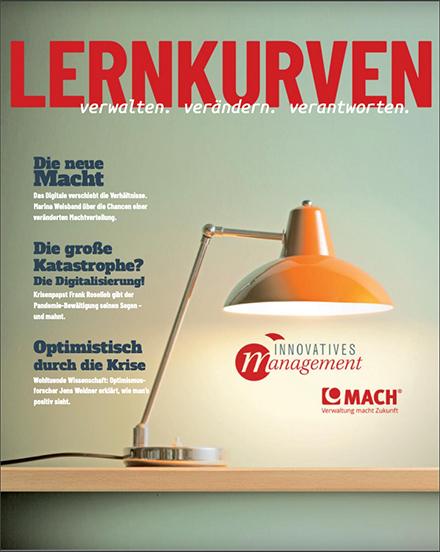 Das digitale Magazin von MACH fasst die Impulse und Erkenntnisse aus dem Kongress Innovatives Management zusammen.