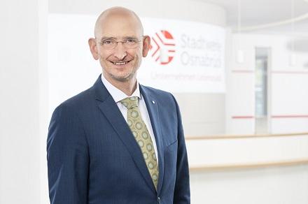 Christoph Hüls bleibt für fünf weitere Jahre Vorstandsvorsitzender der Stadtwerke Osnabrück.