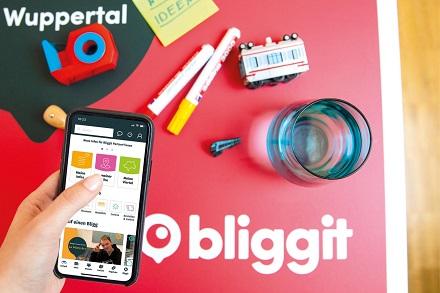 Bliggit ist die neue digitale City-Plattform von Wuppertalern für Wuppertaler.
