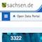 Sachsens Open-Data-Portal ist online.