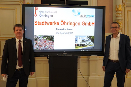 Öhringen gründet Stadtwerke mit Unterstützung der Stadtwerke Schwäbisch Hall.